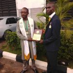 Abdulrahman Musa bags Top Engineer of the 21st Century Award ……..urges Youth to be hard working.