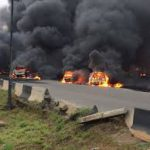 Lagos tanker explosion: My sister who escaped not talking, her twin son still missing