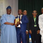 "NCS President awards Ajimobi ""Digital Governor of the Year""......................says Digital Technology inclusion is key to rapid economic growth"