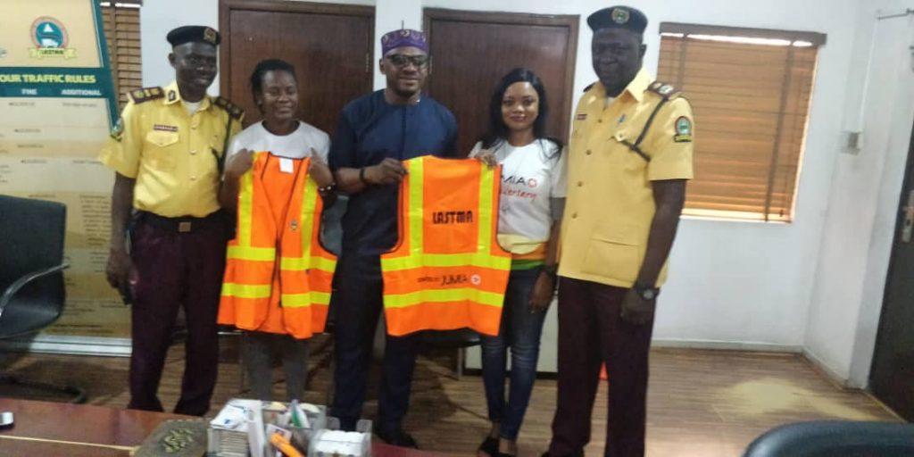 Jumia LASTMA donation