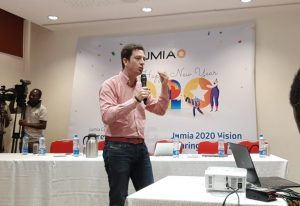 Jumia Group's co-CEO and co-founder, Jeremy Hodara while sharing the company's vision for the year 2020