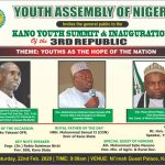 UNESCO Laureate to speak at 2020 Kano Youth summit, tasks govt on proper investments