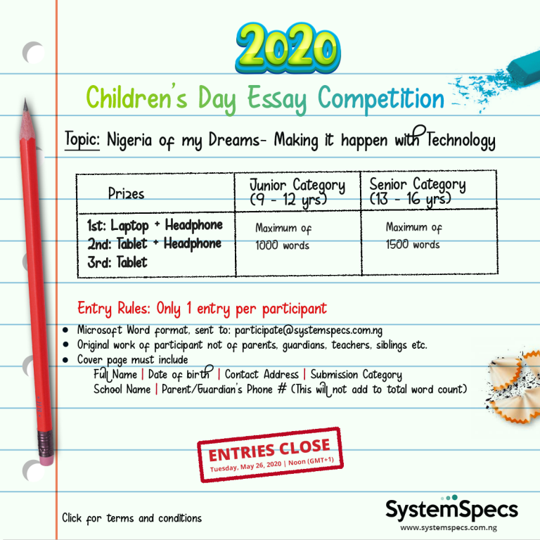 SystemSpecs-Childrens-Day-Essay-Competition.png