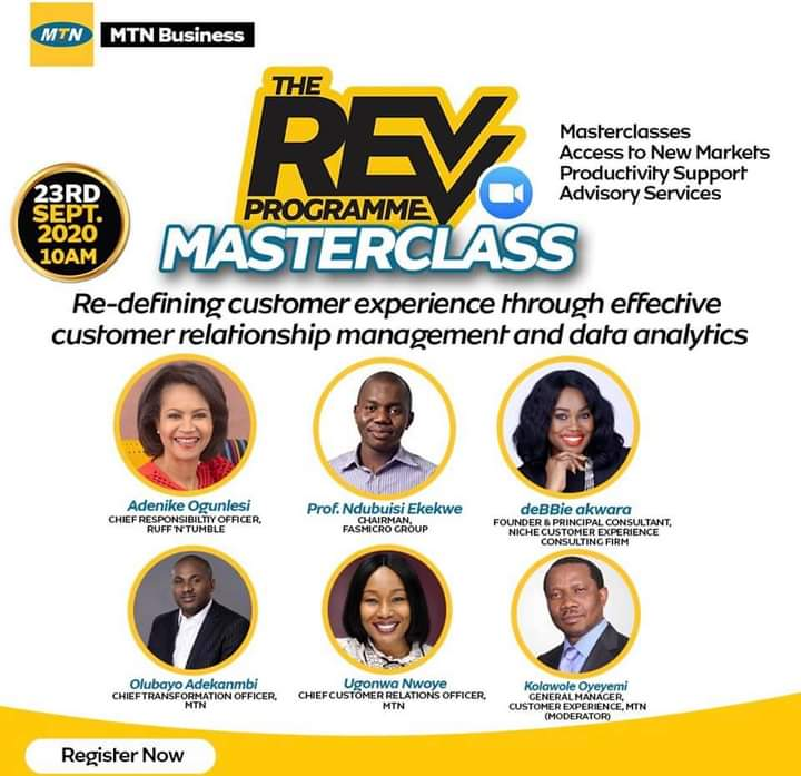 SMEs Need to Maximize Data Analytics for Business Growth - Experts on MTN Revv Programme
