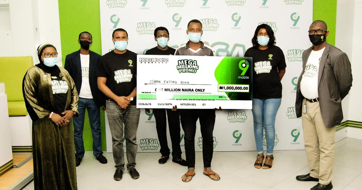 9mobile Gives Away N20 Million, 1000 Smartphones in 'Mega Million' Promo