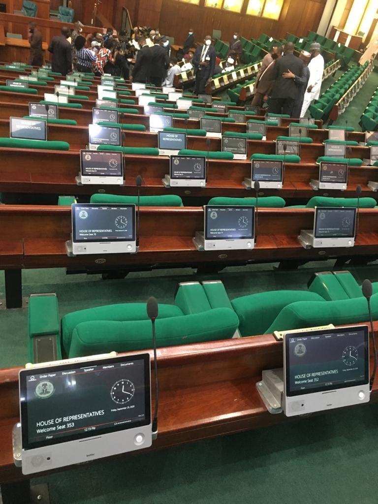 House of Rep Plenary Goes Digital
