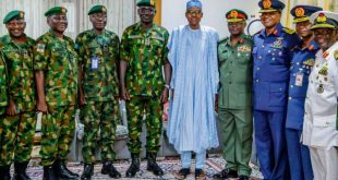 BREAKING: Buhari Sacks Service Chiefs, Appoints New Ones