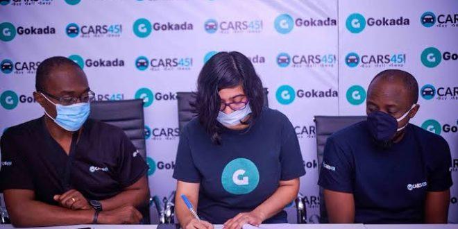 Cars45, Gokada Partner to Enhance Customer Experience