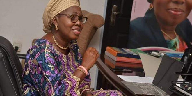 Mrs. Akeredolu Harps on Building Girls' Technical, Intellectual Capacities