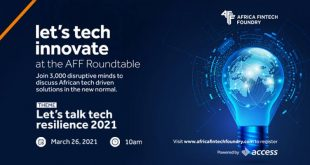 African Fintech Foundry, Access Bank to Host Fintech Innovation Roundtable Second Edition