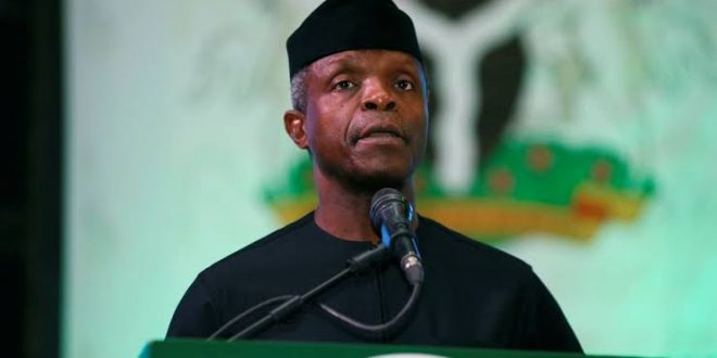 Osinbajo to Delivers Keynote Address at Rack Centre/PwC webinar on 'Africa: the next digital frontier'