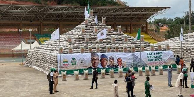 CBN to Promote Nigeria's Agricultural Value Chain with Ekiti Rice Pyramid Project, Target 12,000 Farmers