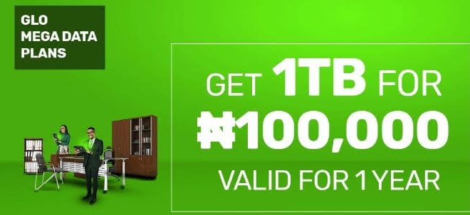 Glo Explains its 1TB Data Plan Offer for Heavy Data Users