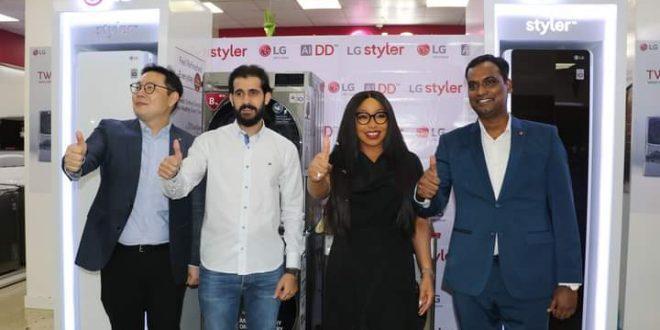 Fabric Protection: LG Unveils Styler, AI DD Washing Machine into Nigerian Market